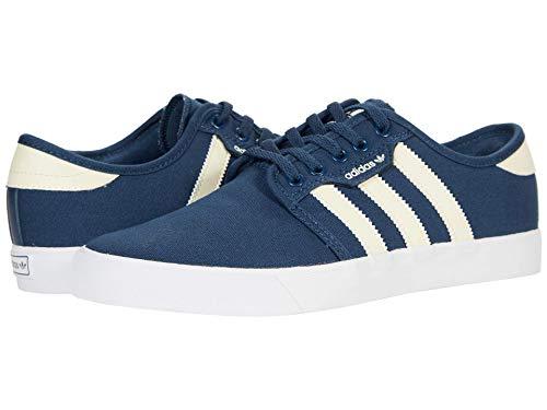 adidas Originals Seeley, Zapatillas Deportivas. para Hombre, Color Azul Marino y Blanco, 44 2/3 EU