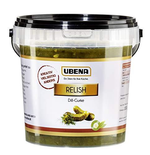 Ubena Foodservice Relish Dill-Gurke, 1000 g