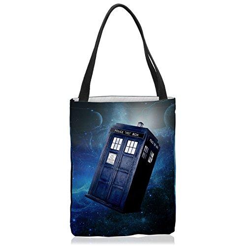 VOID Lost Space Tasche Einkaufs-Beutel Polyester Shopper Einkaufs-Tasche Bag zeitreise Timelord Serie, Größe:Medium