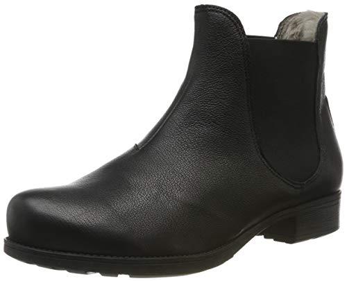 Think! Damen Denk_585026 Chelsea Boots, Schwarz (Schwarz 00), 39 EU