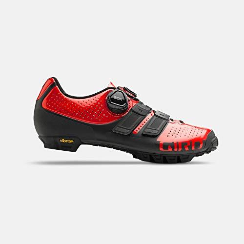 Giro Sica Techlace MTB - Zapatillas de Ciclismo para Mujer, Color Rojo...