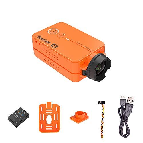 RunCam2 4K Edition FPV Sports Action Camera 49g WiFi Supported Ultra HD MP4 Camcorder Adjustable FOV, Orange