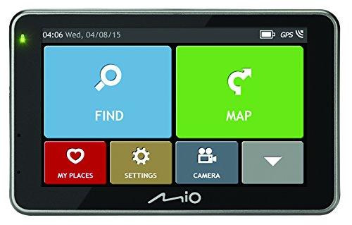 Mio PNAMO115L auto GPS met camera (zwarte box)