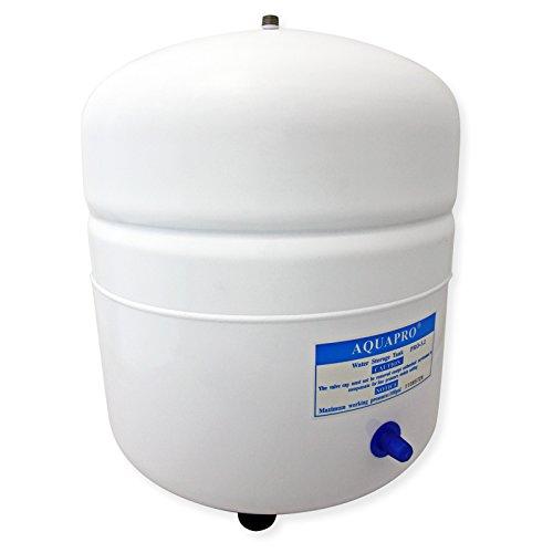 "Tanque Depósito agua para osmosis inversa 12,1 litros de acero 1/4\"" uso alimentario"