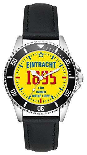 Eintracht Geschenk Artikel Idee Fan Uhr L-11009