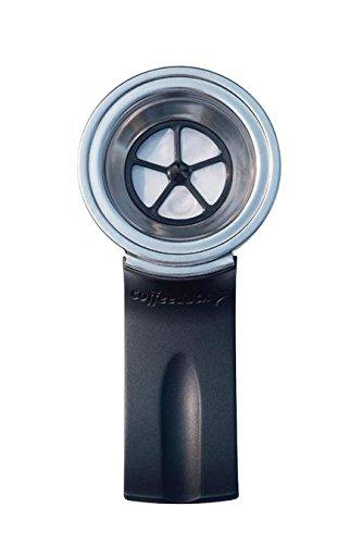 Ecopad Coffeeduck Senseo Maschinen Schwarz/Silber, COFFEEDUCK, für Kaffeegenuss mit Senseo Kaffeemaschinen, auch (973977006852)