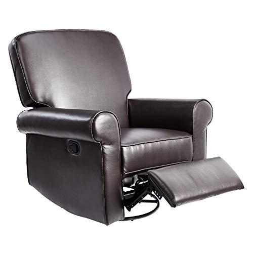 JC Home Swivel & Glider recliner, one size, Brown