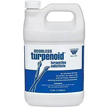 Weber BR1685 Odorless Turpenoid 128Oz 1 Gallon, 128-oz Bottle, Fl