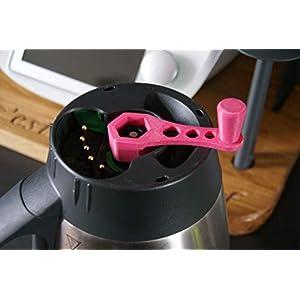 Assist-Taste zum Ablösen der Paste für Thermomix TM5 und TM6, 8 Farben