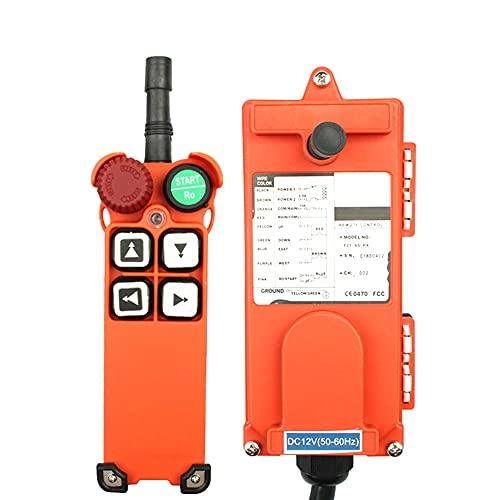 F21-4S 110V 12V 24V 24V 220V 380V Radio inalámbrico industrial Control remoto Control remoto Interruptor de la grúa Restablecer Radio Control Crane Switch,AC 36V(ACDC12-72V),VHF 310-331Mhz