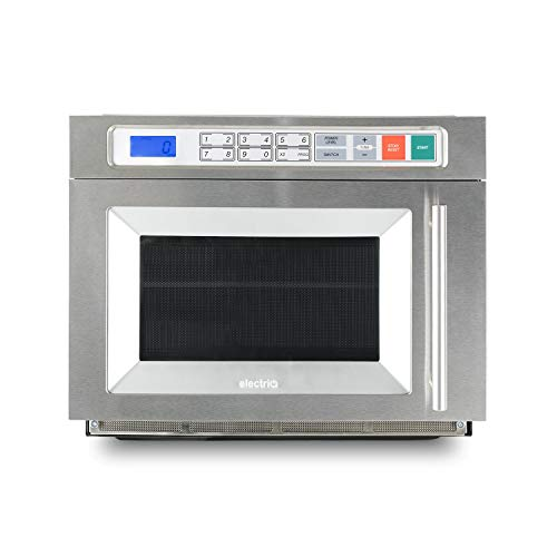 electriQ 1800W 30L Programmable Commercial Freestanding Microwave for Commercial Kitchens & Catering