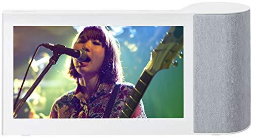 パナソニック 10インチモニター付き ワイヤレススピーカー インターネット動画対応 Bluetooth/無線LAN対応 ホワイト SC-VA1-W