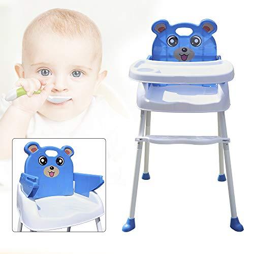 Savada 4 in 1 Kinderhochstuhl, Treppenhochstuhl Babyhochstuhl Klappbar Kinder hochstuhl Baby Sitzerhöhung Verstellbare Babystuh