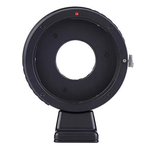 Bigking Adaptador de Lente, Anillo Adaptador de Lente de Apertura Ajustable Manual para Lente Canon EOS para Nikon J1 S1 J4 V2 V3 V5 Cuerpo de cámara