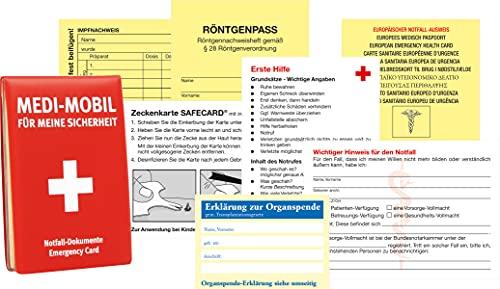 RNK 2897 - Medi Mobil Notfall - Dokumenten Mappe
