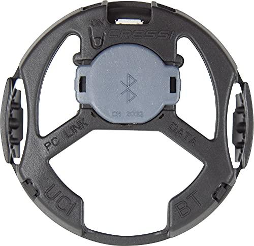 Cressi BT Interface Interfaz Blutooth/USB para computadoras/Relojes, Unisex-Adult, Gris/Negro, Un tamaño