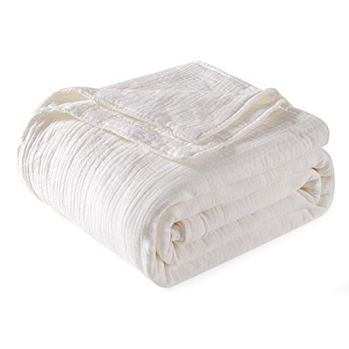 EMME Muslin Blanket Cotton 4-Layer High Density Bed Blankets...