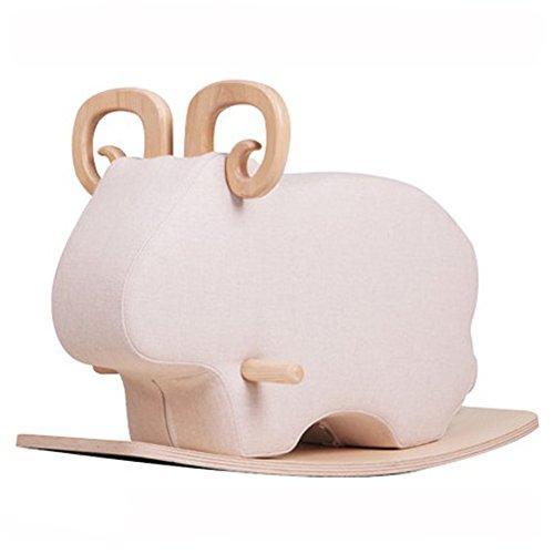 [Motif Yoons] Hizoo Rocker Animal Mouton Jouet d'artisanat Meubles