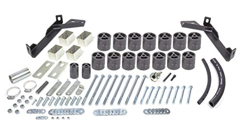"""Performance Accessories, Dodge Ram 1500/2500/3500 Gas 2WD and 4WD Except 99-00 Sport, 3"""" Body Lift Kit, fits 1997 to 2001, PA673, Made in America"""