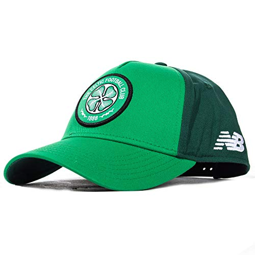 New Balance Mens International Soccer 2019-2020 Base Cap Celtic F.C., Jolly Green, One Size