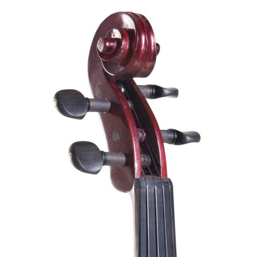 Cecilio 4/4 CEVN-3NA Solid Wood Electric/Silent Violin with Ebony...