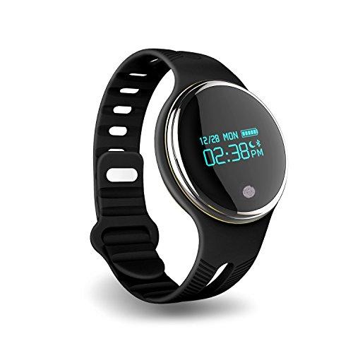 ZZY Monitor de Actividad podómetro Reloj Sleep Monitor, Rastreador de Fitness con IP67 Pantalla táctil OLED Impermeable Pulsera Bluetooth de Seguimiento Inteligente Pulsera GPS para iOS y Android