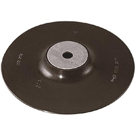 Wolfcraft 2455000 20 Disques Abrasifs Fibre /Ø 125 mm Grains 24 40 60 100 Argent /& 2454000 Plateau pour Meuleuses M14 Diam/ètre 125 mm