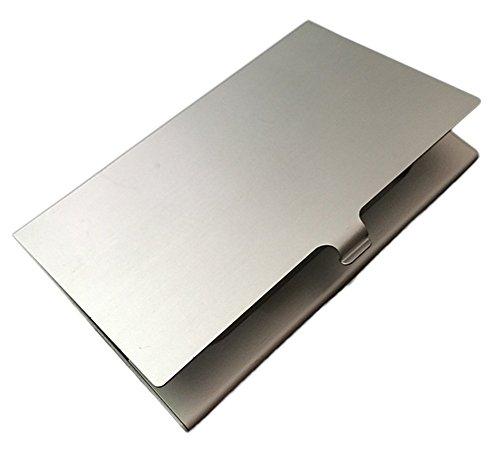 Kentop Tarjetero Cartera Monedero Aleacion de Aluminio Caja de Tarjeta de Visita