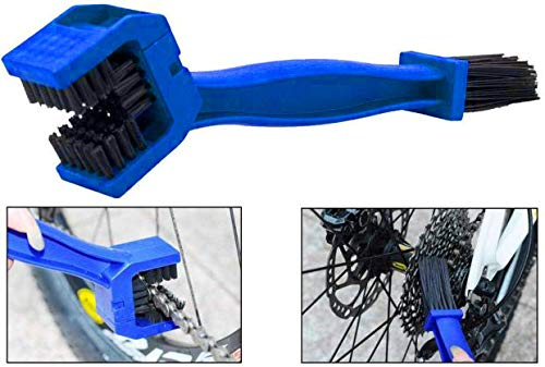 Demarkt® - Cepillo para Limpiar la Cadena de la Moto Bicicleta Bici Herramienta Limpieza Engranajes