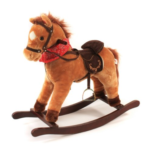 CHIC 2000 Bayer Cowboy Rocking Musical Pony