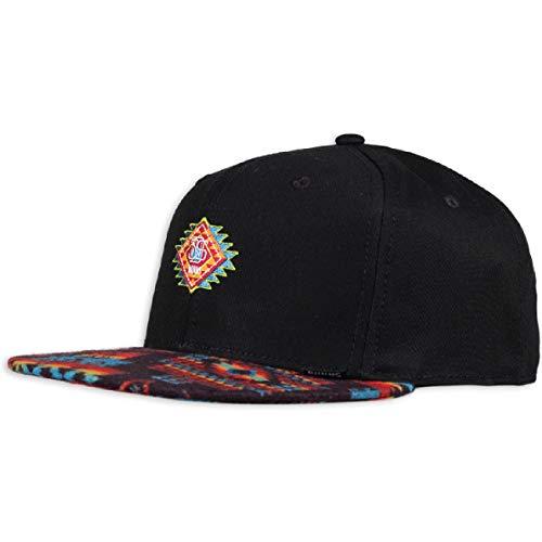 Djinns - Aztek Crown (Black) - Snapback Cap Baseballcap Hat Kappe Mütze Caps