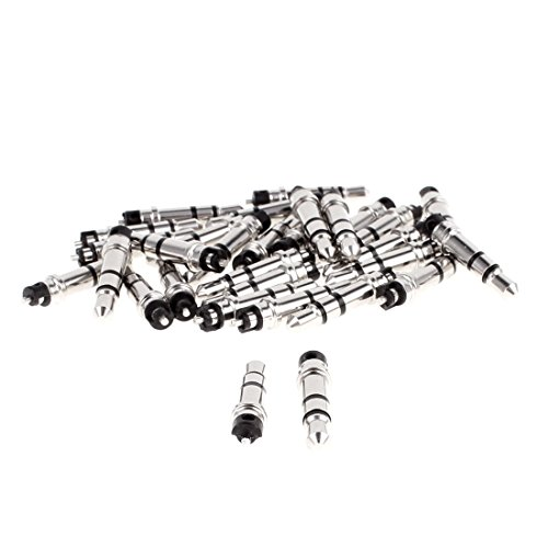Aexit 3,5-mm-Stereo-Audiokopfhörer Kopfhöreranschluss Schwarz 30pcs (caf6930ee20a002290b4553ddd7783e3)