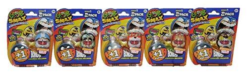 Gobsmax Goliath Verschiedene Sammel- und Spielfiguren-Sets Jaw Dropping Action für Kinder (5er Set SLY)