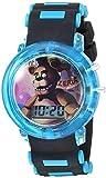 Five Nights at Freddy's Boys' Quartz Watch with Plastic Strap, Black, 15 (Model: FNF4046AZ)