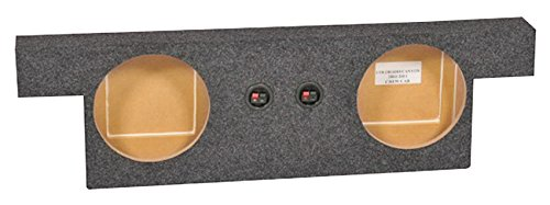 "Dual 10"" Subwoofer Sub Box for 2004-12 Chevrolet Chevy Colorado/Canyon Crew Cab"