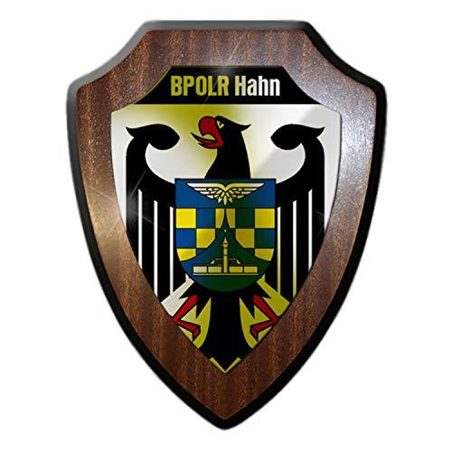Copytec wapenschild - BPOLR kraan vliegtuig Federale politie Revier Koblenz wapen #18785