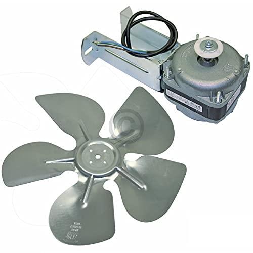 DL-pro universal Ventilator Lüfter 16W 230V mit Haltebügel Flügel Ventilatorflügel 300mmØ für Kühlschrank Kühlgerät