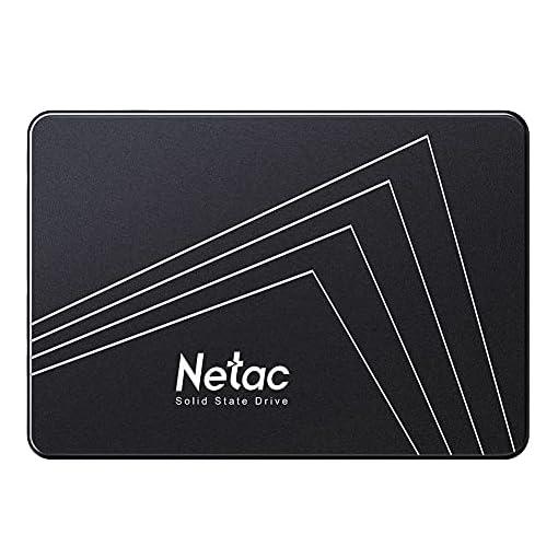 """Netac SSD 128GB, Disco Duro Estado sólido Interna, 3D NAND Flash Unidad, 2.5"""" SATAIII 6Gb/s, hasta 510MB / s con caché SLC para Notebook, Tableta, computadora de Escritorio y PC 1"""