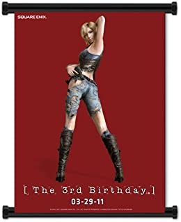 Parasite Eve The 3rd Birthday Game Aya Brea Fabric Wall Scroll Poster (32
