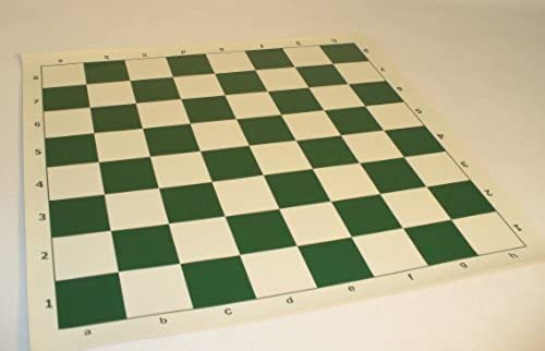 20 Vinyl Tournament Chess Mat by PebbleArt