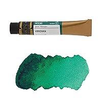 ミッションゴールドクラス 水彩絵具 (緑色系) ビリジアン 7mL (W536) c (mission gold class water color) [ 透明水彩絵具 専門家用 アーチスト 画材 絵画 水彩画 透明 水彩絵の具 えのぐ 単色 ]
