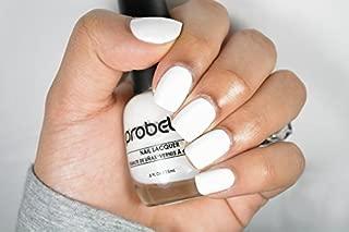 Probelle Nail Lacquer .5 Fl Oz (Chalk White (White Cream))