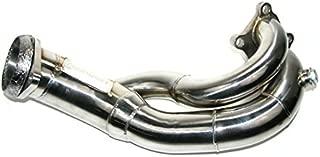 CORKSPORT 2007-2013 Mazdaspeed 3 Exhaust - Power Series Short Downpipe - Stainless Steel T304 (Axl-6-113-10)