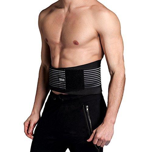 Faja cinturón lumbar Cotill unisex con sistema de agarre para un ajuste personalizado. Realizado en malla transpirable. Uso terapéutico para dolor de espalda y alivio del estrés muscular