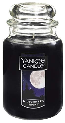 ヤンキーキャンドル ジャータイプ Lサイズ(燃焼時間約110~150時間) アメリカ製 YANKEECANDLE ミッドサマーナイト