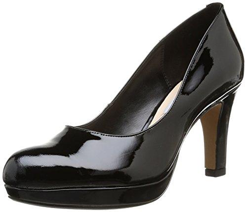Clarks Crisp Kendra - Zapatos de tacón para mujer, color negro