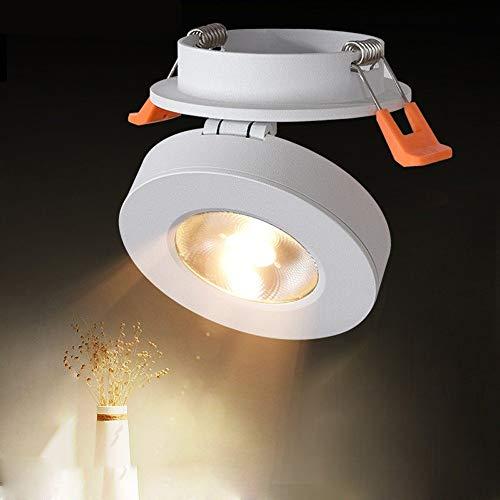 Luz de trabajo Interior DIRIGIÓ Spotlight Spots de techo ajustable superficie montada en la superficie Iluminación de la pared de la pared...