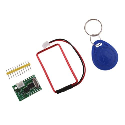 MagiDeal 125Khz EM4100 RFID Card Key ID Reader RF Module With Key Tag For Arduino