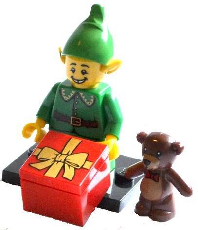 LEGO 71002 - Weihnachtself aus Sammelfiguren-Serie 11