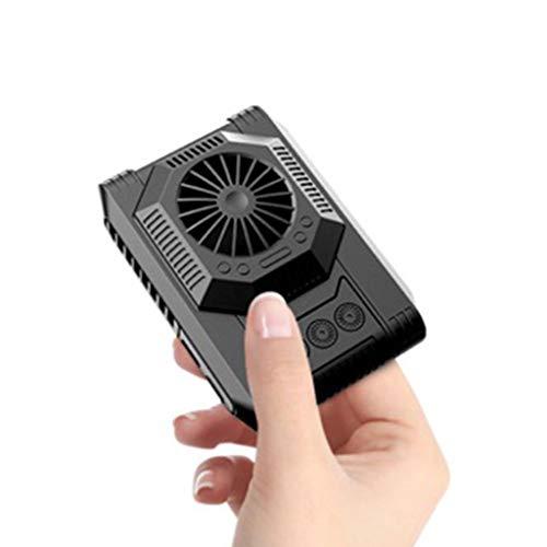 DDEHS Cojín de Enfriador de telefonía móvil portátil Semiconductor Refrigeración de refrigeración Soporte para el Soporte para la Tableta del teléfono Inteligente Ventilador de enfriamiento